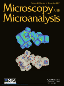 Cover of Microscopy and Microanalysis, December 2016